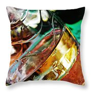 Oil And Water 28 Throw Pillow