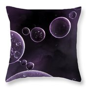 Oil In Water - Id 16217-152114-0614 Throw Pillow