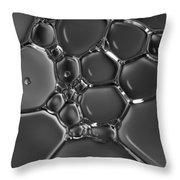 Oil Mosaic Throw Pillow