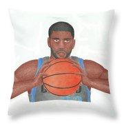O.j Mayo Throw Pillow