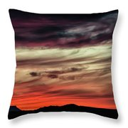 Ojo Caliente Sunset Throw Pillow