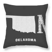 Ok Home Throw Pillow by Nancy Ingersoll