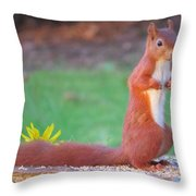 Ok I'll Stay Throw Pillow