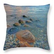 Okanagan Centre Evening Throw Pillow
