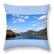Okanagan Summer Throw Pillow
