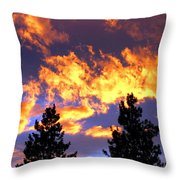 Okanagan Sunset Throw Pillow