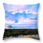 Okavango Sundowners Throw Pillow
