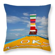 Okay In Thailand Throw Pillow