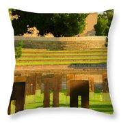 Oklahoma City National Memorial Throw Pillow