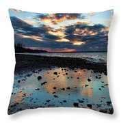 Oklahoma Shows Her Colors Throw Pillow