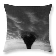Oklahoma Tornado, C1898 - To License For Professional Use Visit Granger.com Throw Pillow