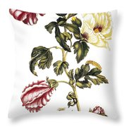 Okra Throw Pillow