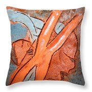 Okuweka - Tile Throw Pillow
