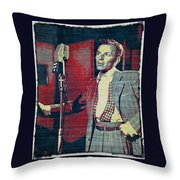 Ol' Blue Eyes - Frank Sinatra Throw Pillow