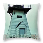 Olcott Lighthouse Throw Pillow