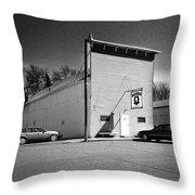 Old 10 Saloon Buffalo North Dakota Throw Pillow