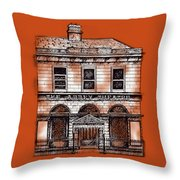 Old Abbey Theatre 1 Dublin Throw Pillow