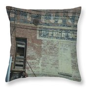 Free Delivery Throw Pillow