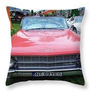 Old American Car Throw Pillow