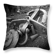 Old Anchor Throw Pillow