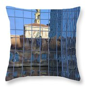 Old And New Patterns Throw Pillow