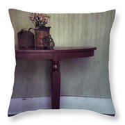 Old And Rusty Throw Pillow by Priska Wettstein
