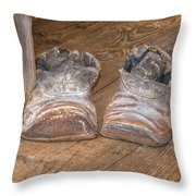 Old And Worn 0047 Throw Pillow