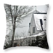 Old Andersson Farmstead Throw Pillow