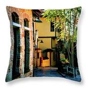 Old Antalya Throw Pillow