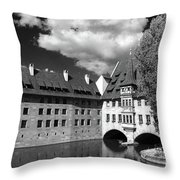 Old Architecture  Nuremberg Throw Pillow