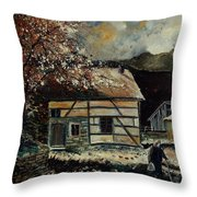 Old Ardennes 56 Throw Pillow