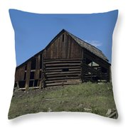 Old Barn 1 Throw Pillow