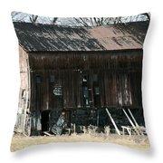 Old Barn-6 Throw Pillow