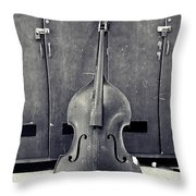 Old Bass Throw Pillow