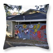 Old Bay Steamer Throw Pillow