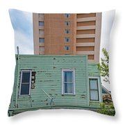 Old Before New High Rise Throw Pillow