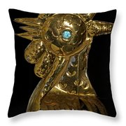 Old Blue Eye Throw Pillow