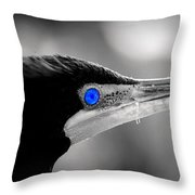 Old Blue Eyes Is Back Throw Pillow
