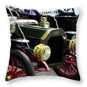 Old Buick Throw Pillow