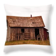 Old Building Throw Pillow