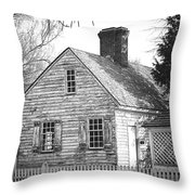 Old But Cool Throw Pillow