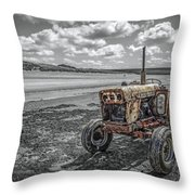 Old But Still Working Throw Pillow