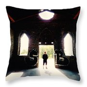 Old Butterstone  Throw Pillow