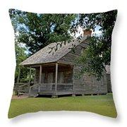 Old Cajun Home Throw Pillow