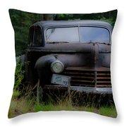 Old Car 1941 Throw Pillow
