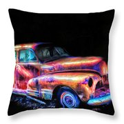 Old Car 2 Throw Pillow