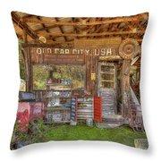 Old Car City Usa Throw Pillow