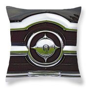 Old Car Grille Throw Pillow