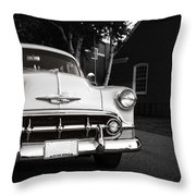 Old Chevy Connecticut Throw Pillow