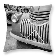 Old Chevy Pickup Throw Pillow